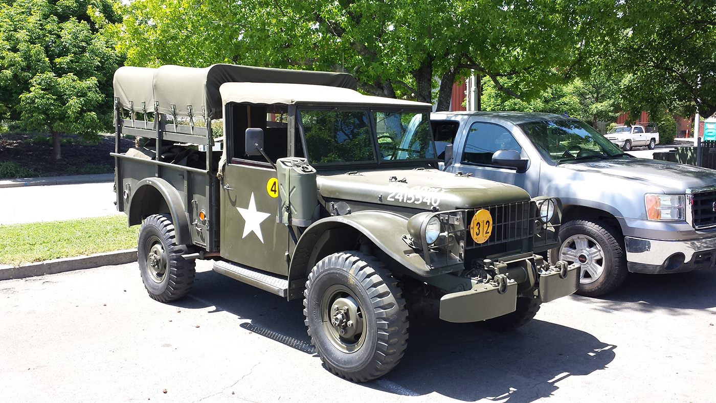 Spotted: Nice Dodge M37 // West County Explorers Club