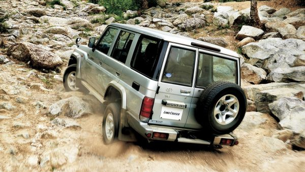 Toyota Landcruiser 70-series 30th Anniversary, via WCXC