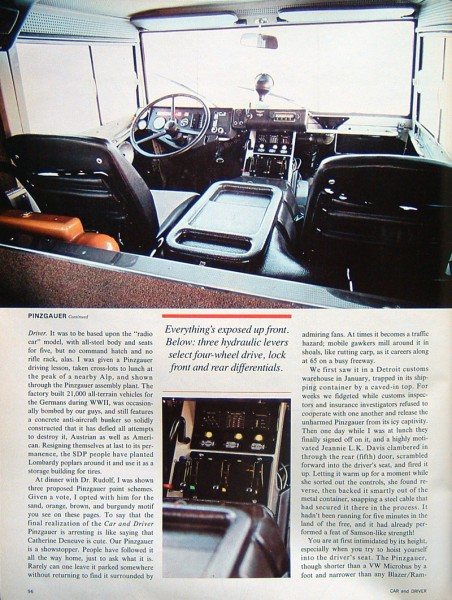 1978 Pnizgauer article, via WCXC