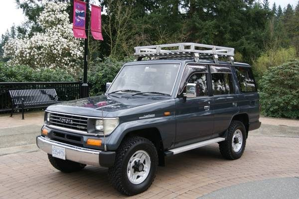 Toyota Land Cruiser Prado Turbo-diesel, West County Explorers Club