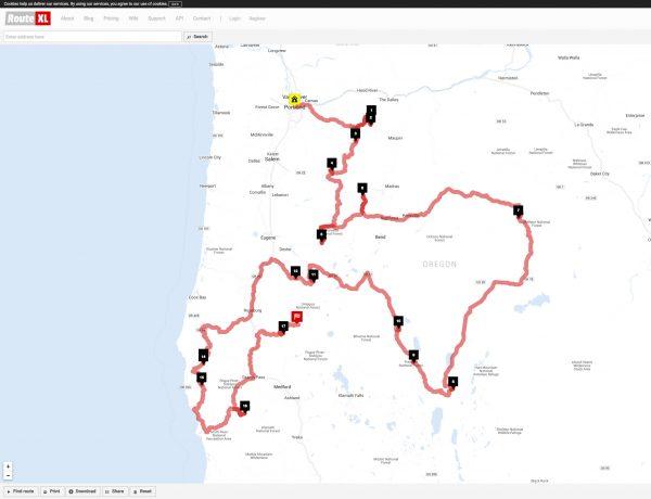 Firelookout Route